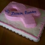Pink Ribbon Charity Cake