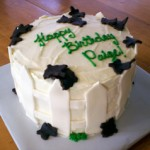 Fall Fences Birthday Cake