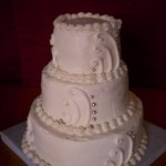 Mini-Wedding Cake