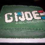 G.I. Joe Groom's Cake