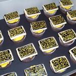 Star Wars Logo Cupcakes