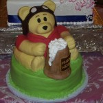 Winnie the Pooh Pilot with Beer Stein