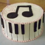 Piano Notes Birthday