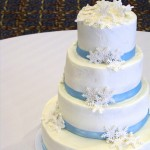 Snowflake and Blue Wedding