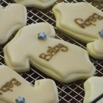 Brown Onesie Cookies