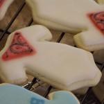 Cowboy Onesie Cookies
